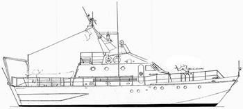 baglietto 20m barca militare vendita